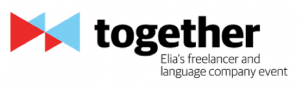 Logo Together Elia's freelance and language company event