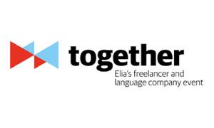Logo pequeño evento de traducción together