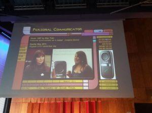 proyección personal communicator