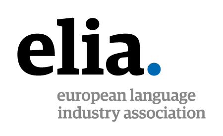 Logo ELIA European Language industry association