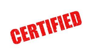 Traducción jurada certificada