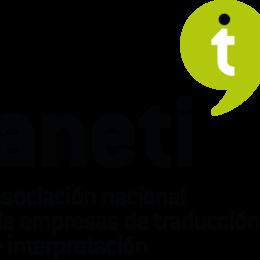 Logo Asociación Nacional de Empresas de Traducción e InterpretaciónANETI